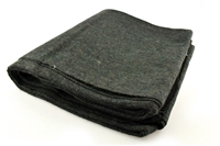 70% Wool Green Military Style Blanket