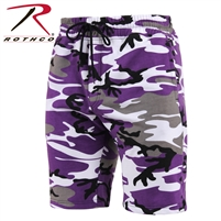 SWEAT SHORT ULTRA VIOLET CAMO