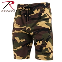 SWEAT SHORT WOODLAND CAMO