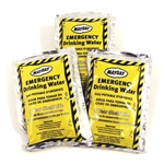 EMERGENCY SURVIVAL WATER PACKS - 16pk