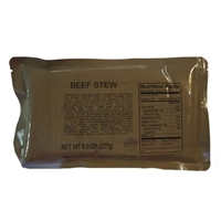 MRE Beef Stew Main Course