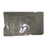 MRE Chicken Burrito Bowl Main Course