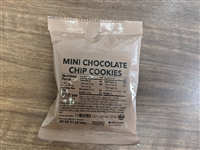 MRE Mini Chocolate Chip Cookies-2pk