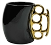 Caliber Gourmet Brass Knuckle Mug