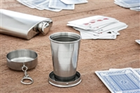 Stainless Steel Collapsible Cup with Hard Case