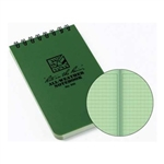 Rite in Rain - Green 3x5 Pocket Notebook