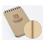 Rite in the Rain - Tan 3x5 Pocket Notebook