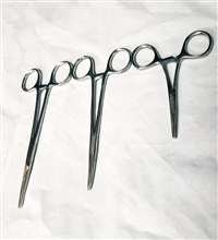 STAINLESS STEEL HEMOSTATS-STRAIGHT