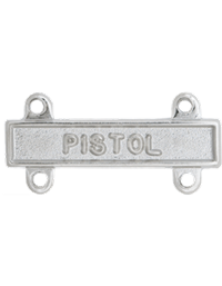 No-Shine Pistol Qualification Bar