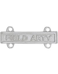 No-Shine Field Artillery Qualification Bar