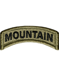 Mountain Tab with Velcro