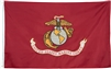 United States Marine Corps Double Sided Embroidered Flag