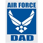 AIR FOCE DAD DECAL