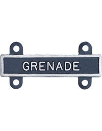 Silver Oxide Grenade Qualification Bar
