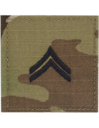 Scorpion Rank Corporal E-4 with Velcro