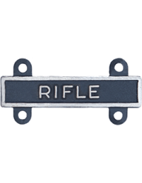 Silver Oxide Rifle Qualification Bar
