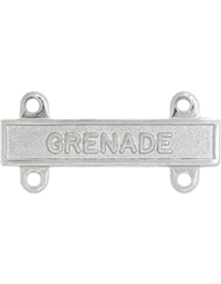 No-Shine Grenade Qualification Bar