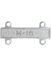No-Shine M-16 Qualification Bar