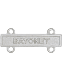 No-Shine Bayonet Qualification Bar