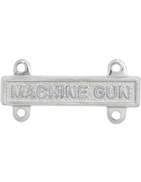 No-Shine Machine Gun Qualification Bar