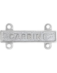 No-Shine Carbine Qualification Bar