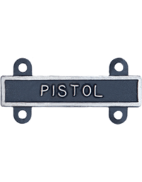 Silver Oxide Pistol Qualification Bar