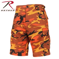 SAVAGE ORANGE CAMO BDU SHORT