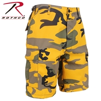 STINGER YELLOW CAMO BDU SHORT