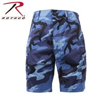 SKY BLUE CAMO BDU SHORT