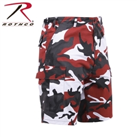 RED CAMO BDU SHORT