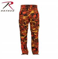 SAVAGE ORANGE CAMO BDU PANT