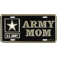 ARMY MOM LICENSE PLATE