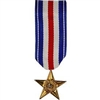 SILVER STAR MINI MEDAL