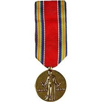 WWII VICTORY AND SERVICE MINI MEDAL