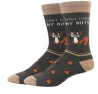 DON'T TOUCH MY NUTS SOCKS