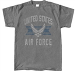 AIR FORCE VINTAGE GRAPHITE TEE