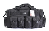 "30"" BLACK TACTICAL DUFFLE BAG"