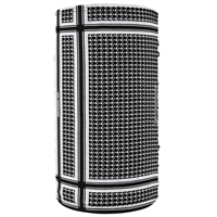 MOTLEY TUBE HOUNDSTOOTH BLACK/WHITE