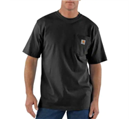 CARHARTT S/S POCKET TEE BLACK