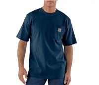 CARHARTT S/S POCKET TEE NAVY