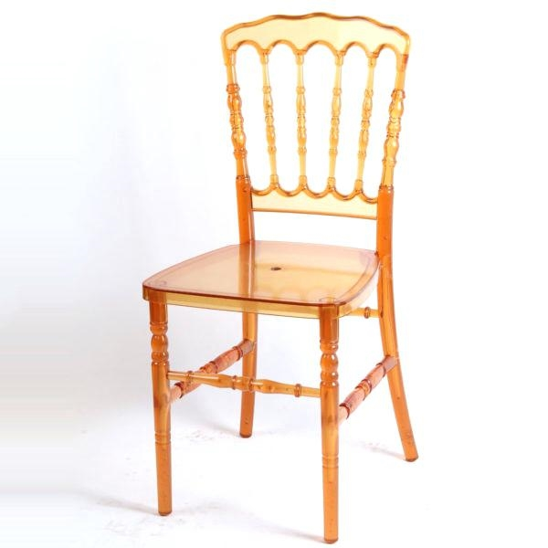 NAPOLEON RESIN AMBER CHAIR ...
