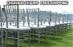 RESIN DEALS CHIAVARI CHAIR BUNDLES - Cheap Plastic folding chairs, White Poly Samsonite Folding Chairs, lowest prices folding chairs