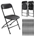 BUNDLES Plastic Folding Chair -Cheap Plastic folding chairs, White Poly Samsonite Folding Chairs, lowest prices folding chairs