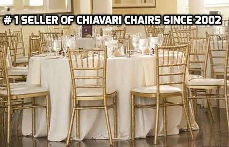 FREE SHIPPING CHIAVARI CHAIR BUNDLES - Cheap Plastic folding chairs, White Poly Samsonite Folding Chairs, lowest prices folding chairs, NEW YORK