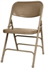 Beige Metal Folding Chairs, Wholesale Metal Folding Chairs,