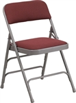 Free shipping Burgundy Cheap Brown Folding Chair
