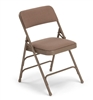 Free shipping  BeigeVinyl  Folding Chairs