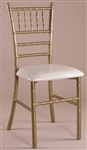Gold  Metal Chiavari Chair, chiavari