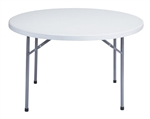 "45"" Round Plastic Table -FREE SHIPPING Wholesale  Round Plastic Folding Tables,  60 Inch California"