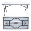 "30 x 72"" Discount Prices on plastic folding table, Plastic folding tables, Texas Folding Tables,"